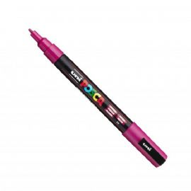 Posca - PC-3M Fine Bullet Tip - Water Based Paint Marker - Fuchsia